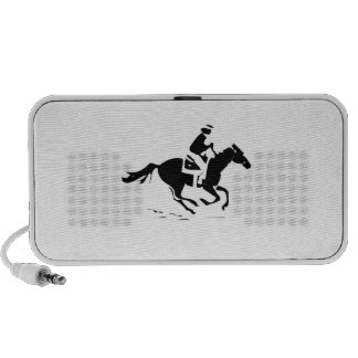 Horse Riding Laptop Speakers