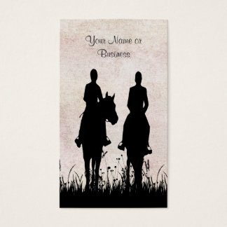 Horse Riding Stable Equestrian Business Cards