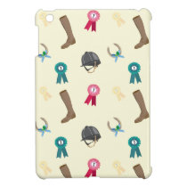 Horse riding themed ipad case