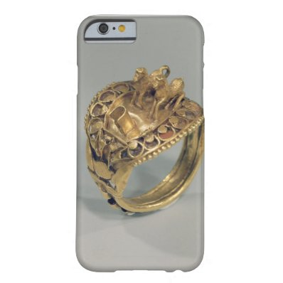 Horse ring  gold and cornelian  barely there iPhone 6 case