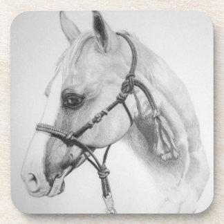 horse, rodeo beverage coaster