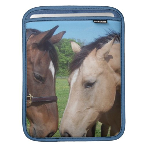 Horse Romance iPad Sleeve
