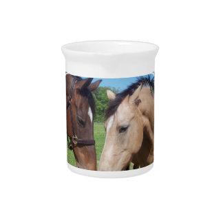 Horse Romance Pitcher