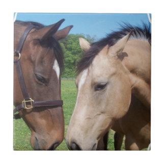 Horse Romance Tile