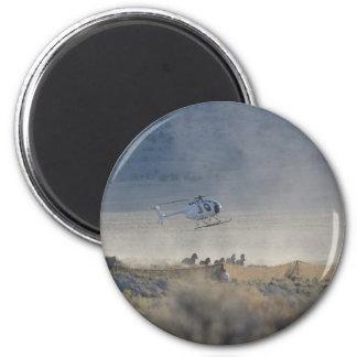 Horse Round Up Magnet