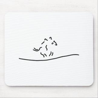 horse-run gallopp jockey mouse pad