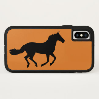 Horse running equine race fast run pet life animal iPhone x case