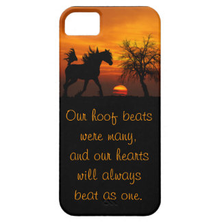 Horse Running Free at Sunset iPhone SE/5/5s Case