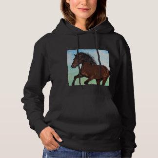 Horse Running Free Hoodie