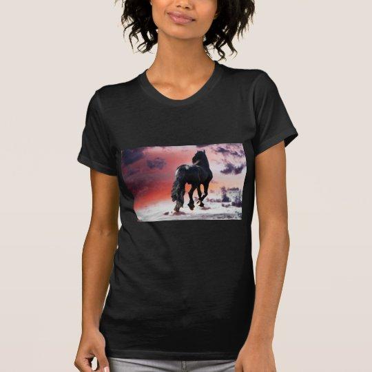 Horse running free T-Shirt