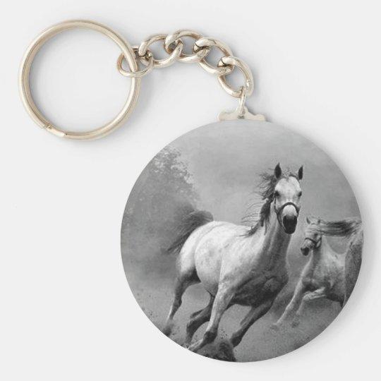 Horse Running Keychain