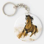 Horse Running Keychains