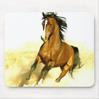 Horse Running Mouse Pad