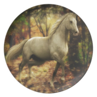 Horse Running Party Plates