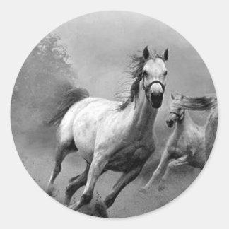 Horse Running Stickers