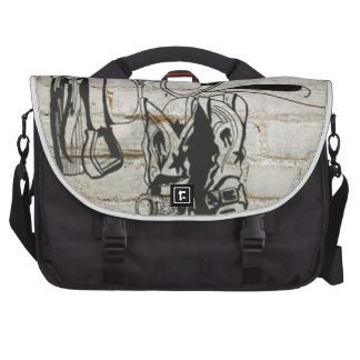 Horse Saddle Hat Western Cowboy Cowgirl Laptop Computer Bag