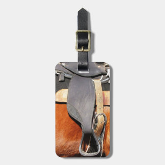 Horse Saddle Luggage Tag