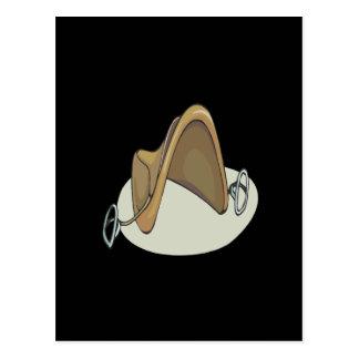 Horse Saddle Postcard