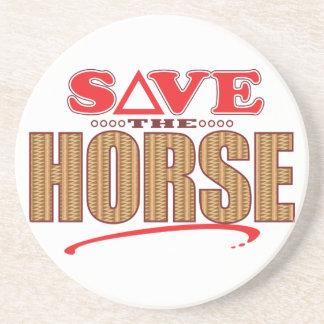 Horse Save Drink Coaster