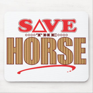 Horse Save Mouse Pad
