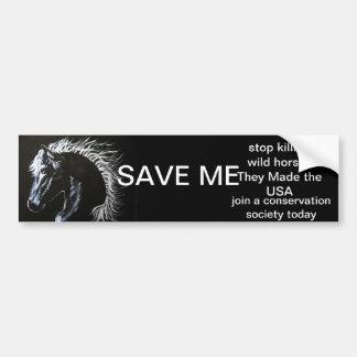 HORSE - SAVE MY STICKER