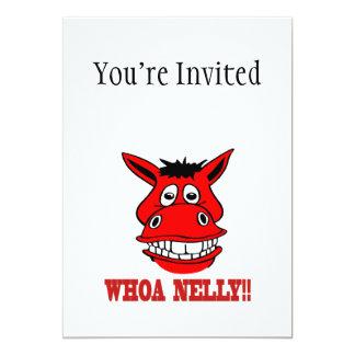 Horse Says Whoa Nelly Card
