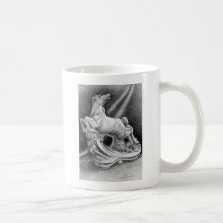 Horse Sculpture Coffee Mug