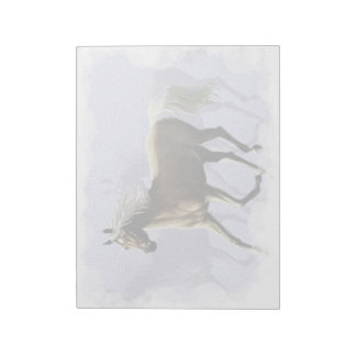 Horse Shadow Notepad (2)sizes