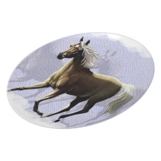 Horse Shadow Plate 10""