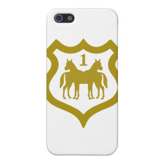 horse-shield.png case for iPhone SE/5/5s