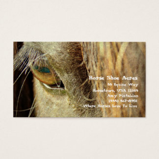Horse Shoe Acres 3 Business Card