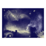 Horse shoe Nebula Poster