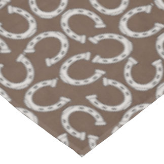Horse shoe pattern Country table cloth Tablecloth