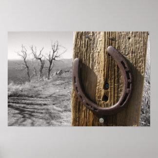 horse shoe print