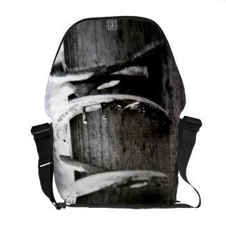 Horse Shoes Messenger Bag