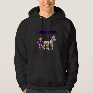 Horse Show 2 Hooded Pullover