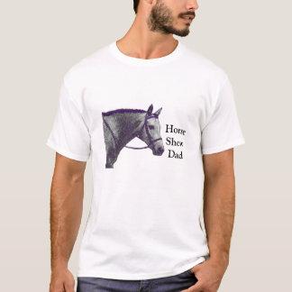 Horse Show Dad - English rider T-Shirt