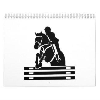Horse show jumping calendar