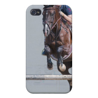 Horse-Show Jumping Cases For iPhone 4