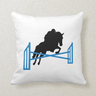 Horse show jumping pillows