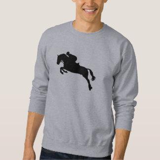 Horse show jumping sweatshirt