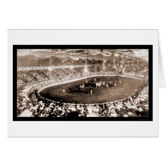 Horse Show Kansas City Photo 1905 Card