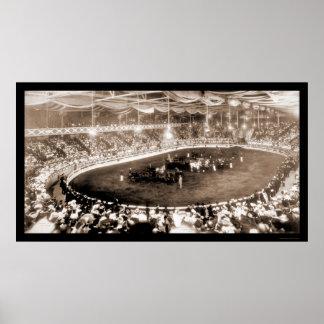 Horse Show Kansas City Photo 1905 Poster