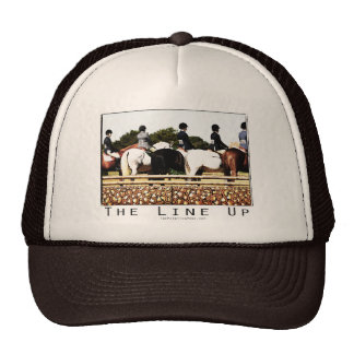 Horse Show Line Up Mesh Hat