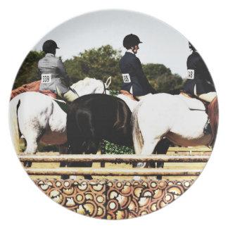 Horse Show Line Up Plates
