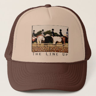 Horse Show Line Up Trucker Hat