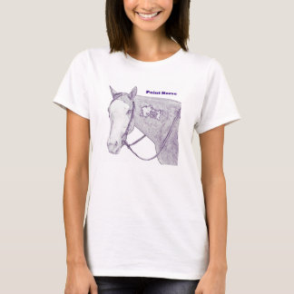 Horse show Mom t-shirt, paint horse T-Shirt
