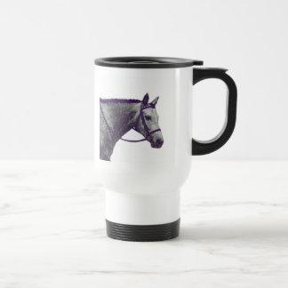 Horse Show Mom Travel Mug - English