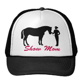 Horse Show Mom Trucker Hat