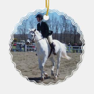 Horse Show Ornament